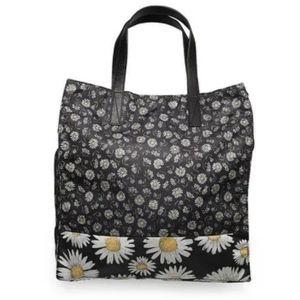 Marc Jacobs Black B.Y.O.T. Daisy Flower Tote Bag